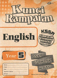 Kunci Rampaian (English) Year 5