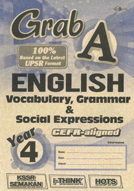 Grab A (English) (Vocabulary, Grammar & Social Expressions) Year 4