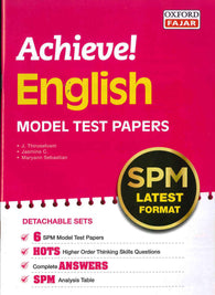 Achieve! (English) Model Test Papers SPM