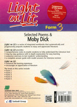 Light on Lit (Selected Poems & Moby Dick) Form 3