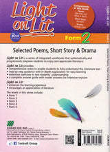 Light on Lit (Selected Poems, Short Story & Drama) Form 2 - Pustaka Saujana