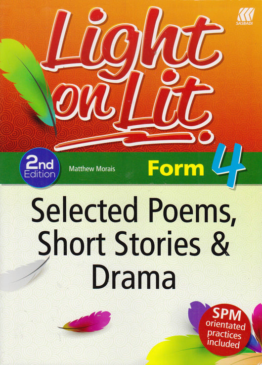 Light on Lit (Selected Poems, Short Stories & Drama) Form 4 - Pustaka Saujana