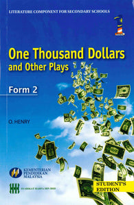 One Thousand Dollars and Other Plays (Form 2)