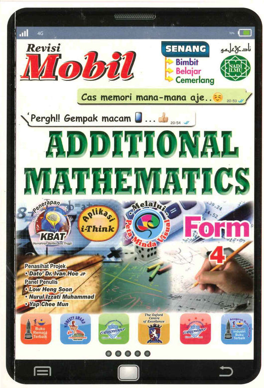 Revisi Mobil (Additional Mathematics) Form 4