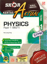 Skor A Kertas Aktual STPM (Physics) Term 1
