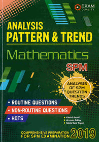 Analysis Patern & Trend (Mathematics) SPM