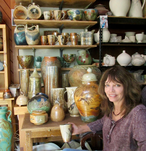 Lauren Hanson in her Studio