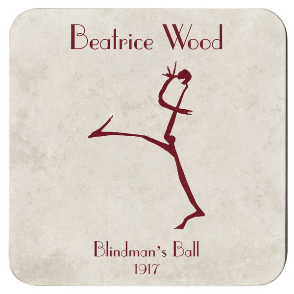 Beatrice Wood Blindman's Ball Coasters