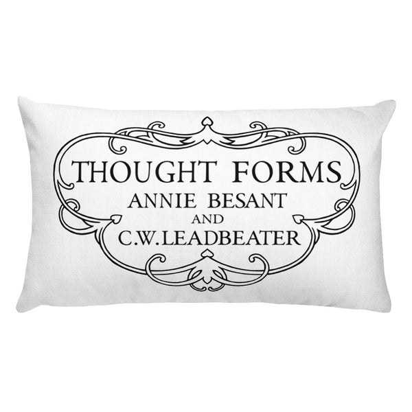 Thought Forms Cartouche Rectangular Pillow