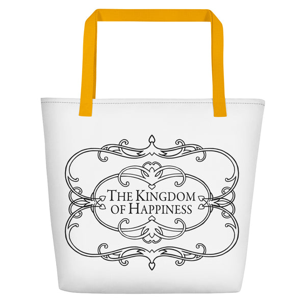 The Kingdom of Happiness Beach Bag