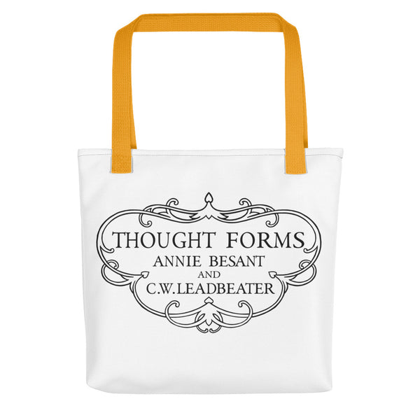 Thought Forms Cartouche Tote bag