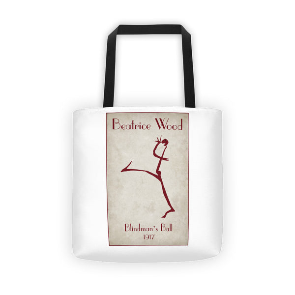 Beatrice Wood Blindman's Ball 1917 Tote bag