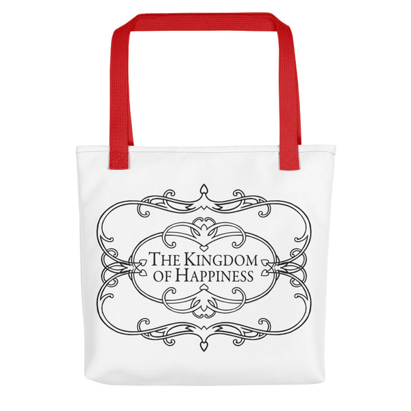 The Kingdom of Happiness Tote bag