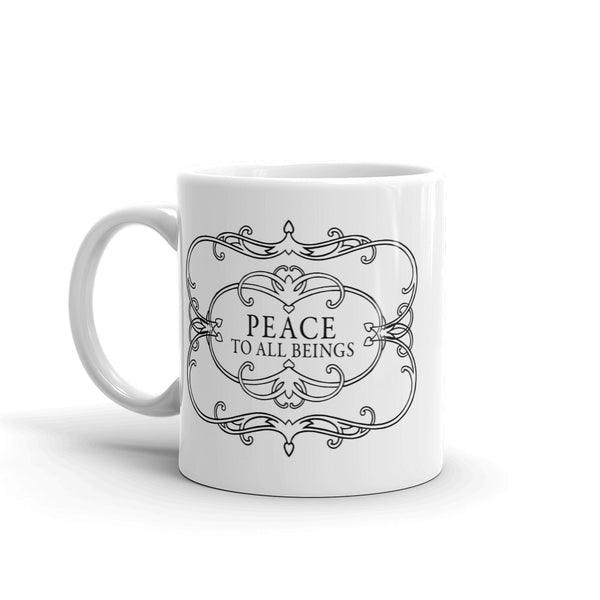 Peace to all Beings Mug