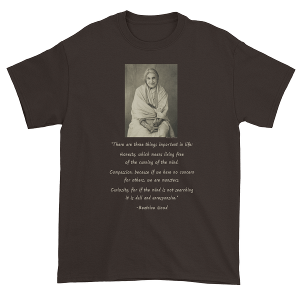 Beatrice Wood Photo with Quote Short Sleeve T-shirt