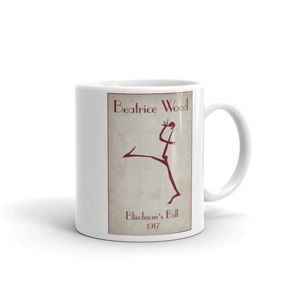Beatrice Wood Blindman's Ball 1917 Mug