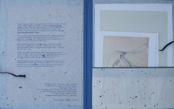 Folio of Lithographs - Unframed