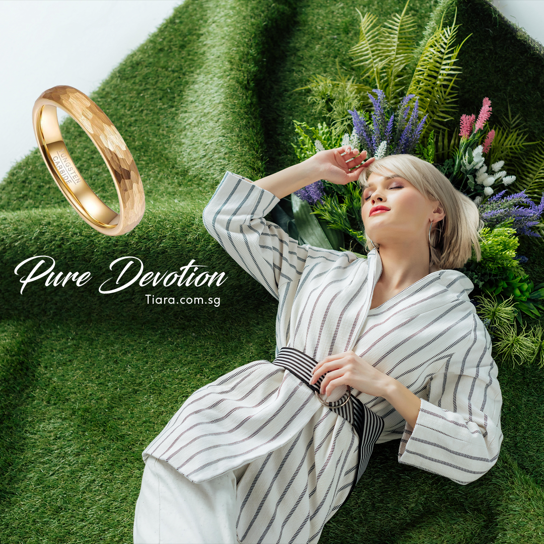 Pure Devotion Wedding Rings Tiara Singapore