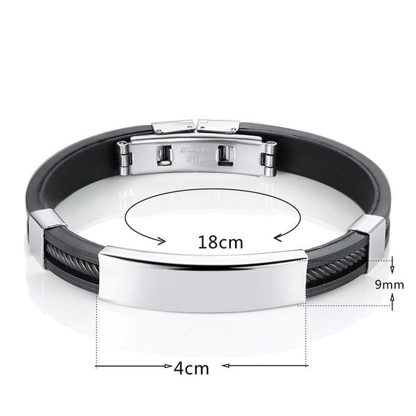 Knight Stainless Steel Bracelet