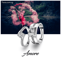 Amore Couple Rings (Same Day Delivery)