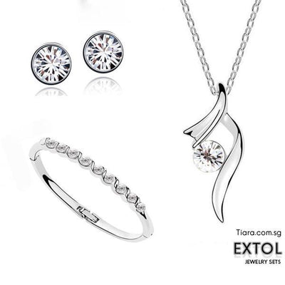 Extol Jewelry sets - Tiara.com.sg Singapore Jewelry Shop
