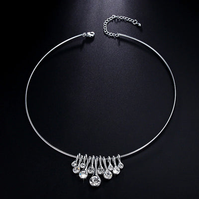 LUXE3035 Necklace - Tiara.com.sg Singapore Jewelry Shop