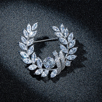 Luxe9008 Brooch - Tiara.com.sg Singapore Jewelry Shop
