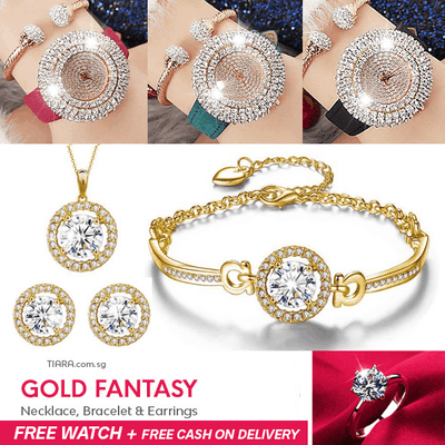 Gold Fantasy Special - Tiara.com.sg Singapore Jewelry Shop