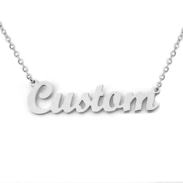 Name Necklace 925 Silver (Customised)