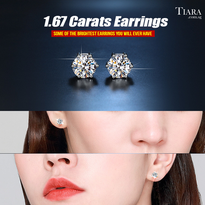Limited Edition Earrings - Tiara.com.sg Singapore Jewelry Shop