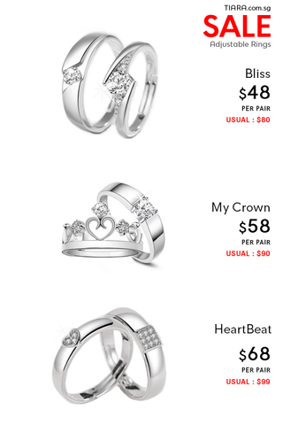 Couple Ring Bliss Collection