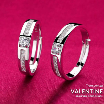 Valentine Adjustable Ring - Tiara.com.sg Singapore Jewelry Shop