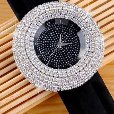 Glimmer Collection G2 Black Watches - Tiara.com.sg Singapore Jewelry Shop