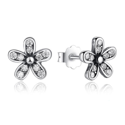 SSER8873 - Daisy Earrings - Tiara.com.sg Singapore Jewelry Shop