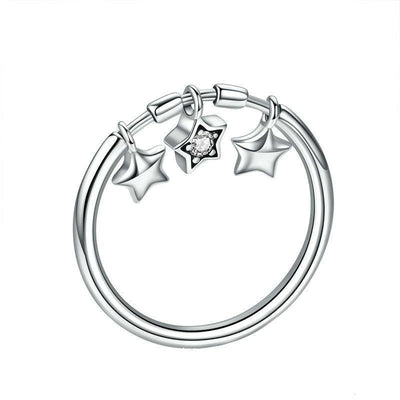 Twinkle Stars Ring - Tiara.com.sg Singapore Jewelry Shop