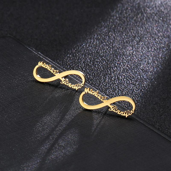 Infinity Customised Ear Studs