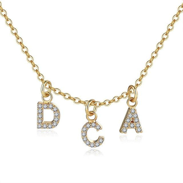 Etasy Alphabet Necklace