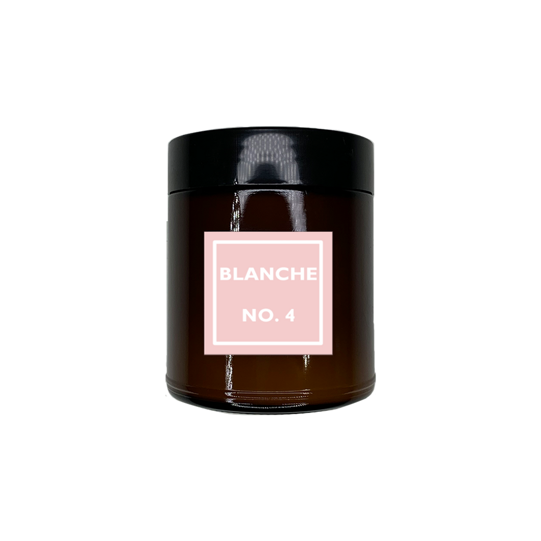 BLANCHE NO. 4 | JASMINE + ORCHID + SEA SALT | AMBER JAR