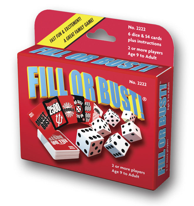 Fill Or Bust!® Card & Dice Game