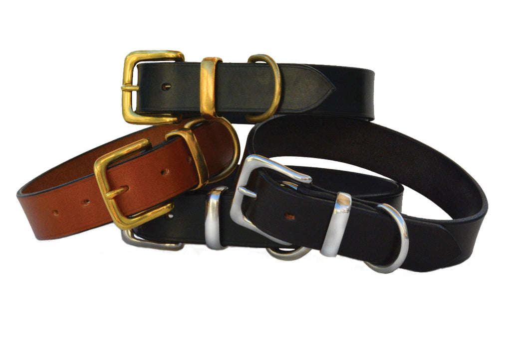Plain Dog Collars