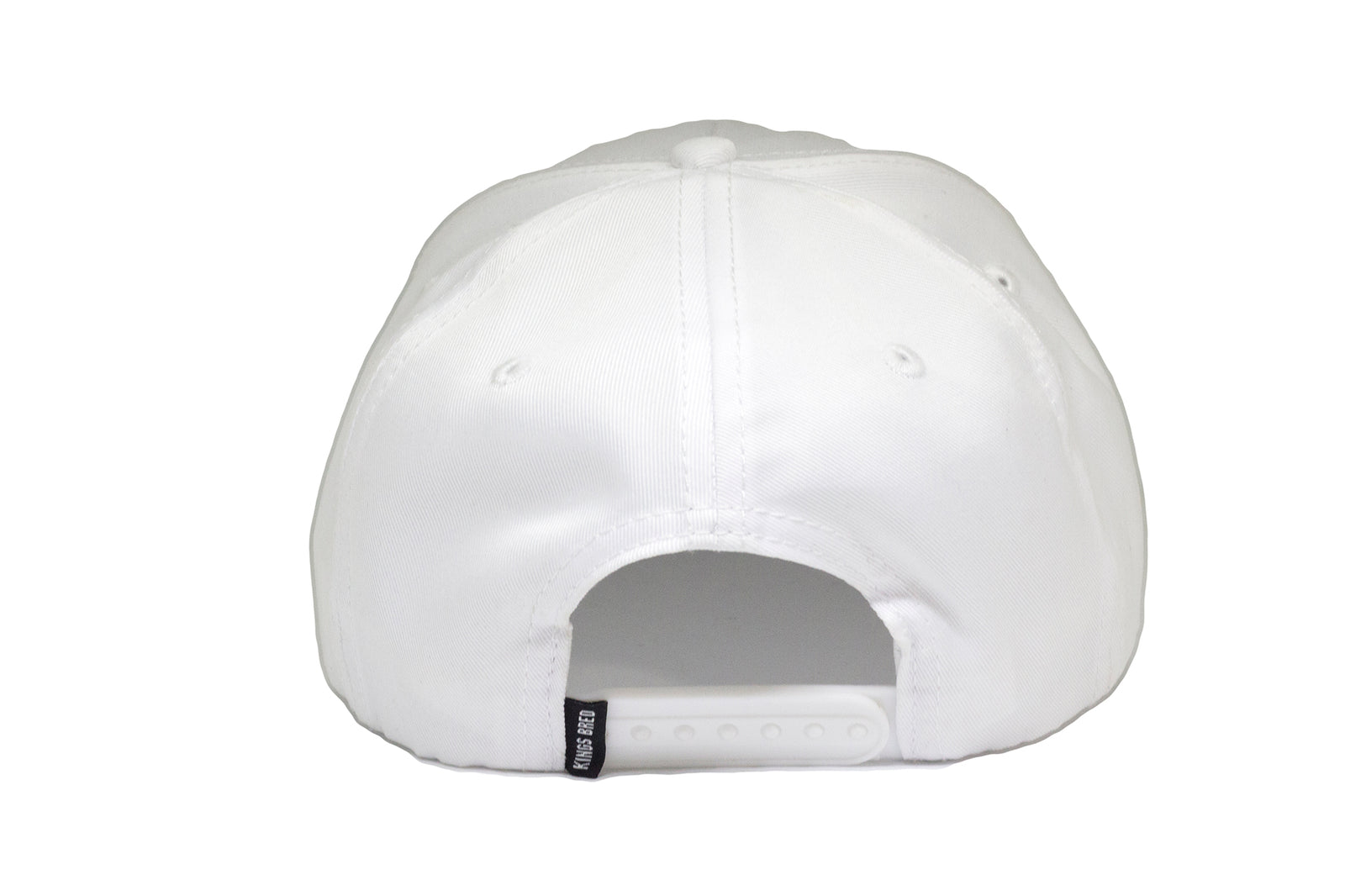 d1979578ef882 THE KING - A-Frame White Ghost Snapback – KINGS BRED