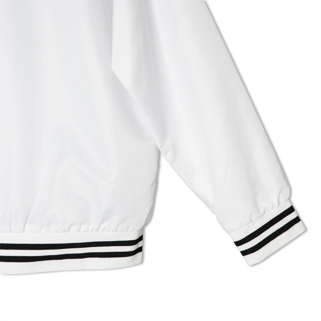 THE KING - White Ghost - Varsity Jacket