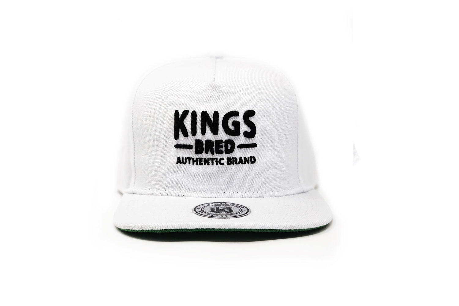 43f3369eb308f Authentic Brand - White Ghost - Classic Snapback – KINGS BRED