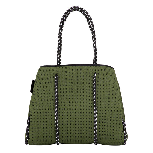 Neo Tote Bag - Khaki Green *IN STOCK *