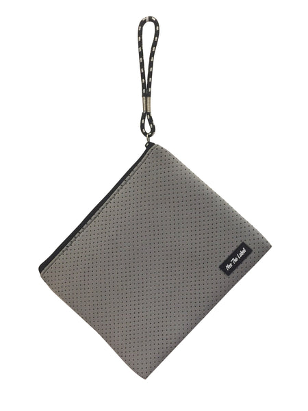 Neoprene Waterproof Pouch - Neo the Label - Light Grey