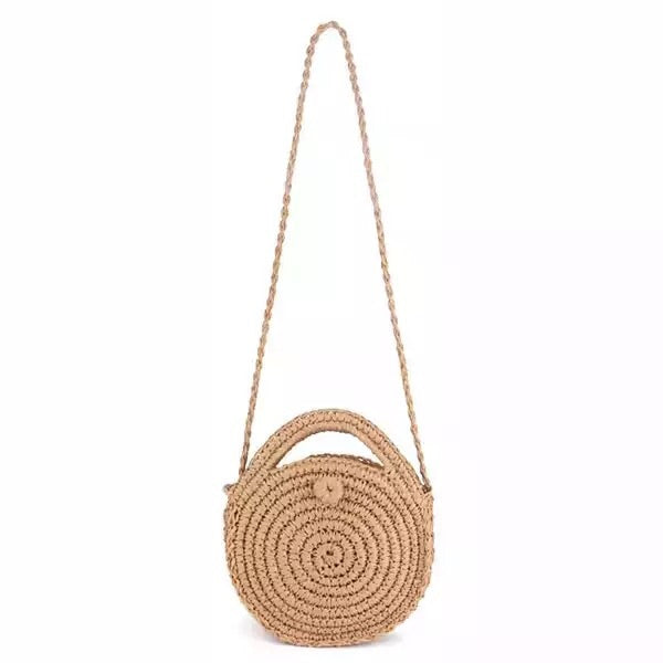 Cross Body Woven Bag