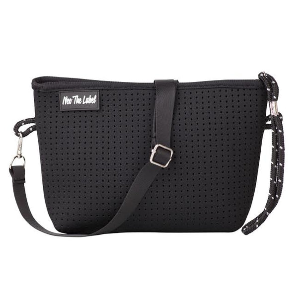 Neoprene Cross Body Bag - Neo the Label - Black