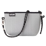 Neo Casual Cross Body/Clutch Bag Light Grey *IN STOCK*