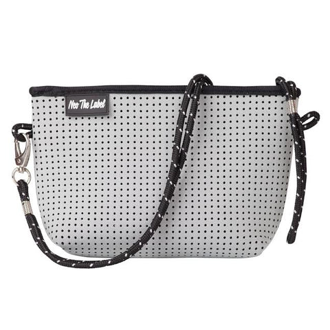 Neoprene Cross Body Bag - Neo the Label - Light Grey