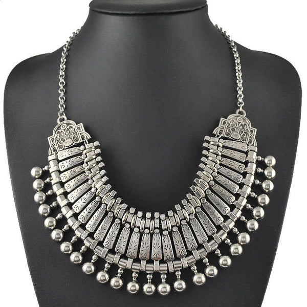 BohoSilver Necklace - gogetithub